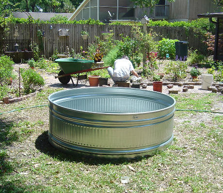 Galvanized water troughs who 39 s your granny for Local pond supplies